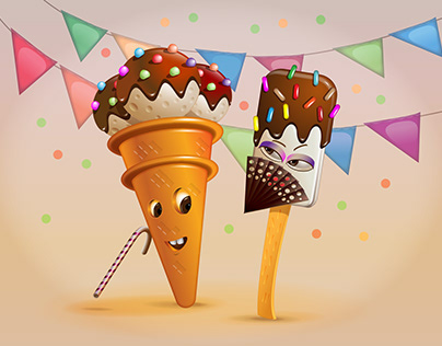 Ice Cream Party-Time
