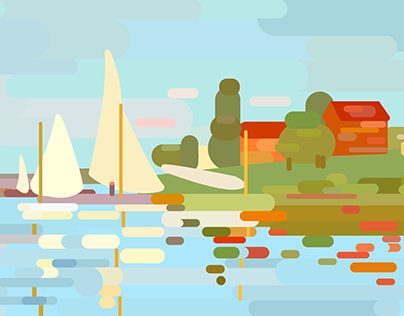 Graphic Impressionism: Monet's Argenteuil Basin