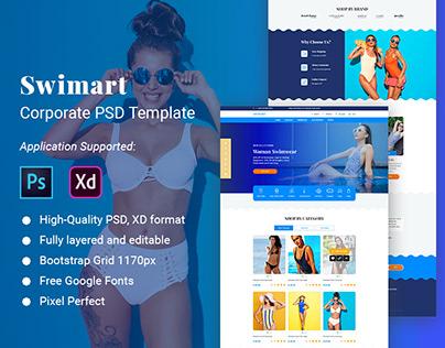 Swimart Multipurpose eCommerce PSD Template