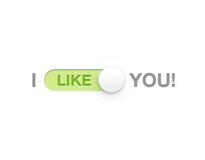 I like you...