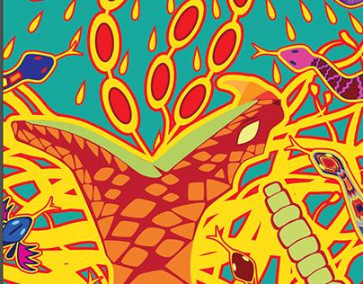 Xaye-Serpiente Cascabel-Rattlesnake