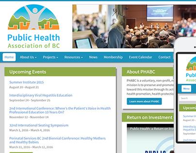 Logo and Website Re-design for PHABC