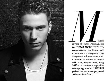 Nikita Presnyakov For Touch Magazine