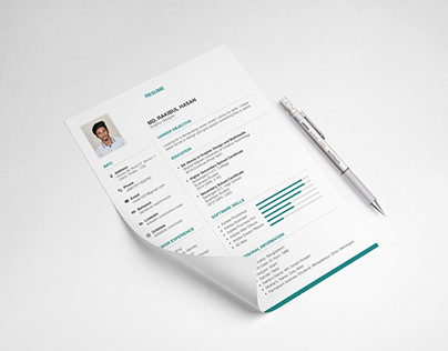 Neat & Clean FREE RESUME Template