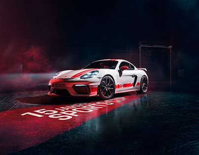 718 Cayman GT4 Sports Cup Edition