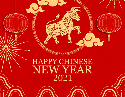 SOCIAL MEDIA DESIGN FOR CHINESE NEW YEAR
