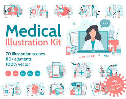 Medical Illustration Kit
