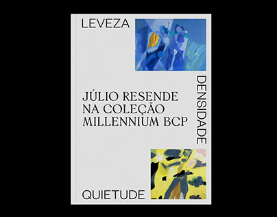 Júlio Resende na Coleção Millennium bcp