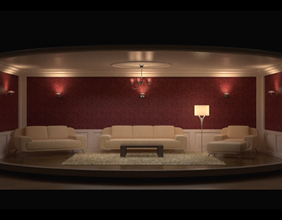 Interior furnishing or jewelry choosing website concept
