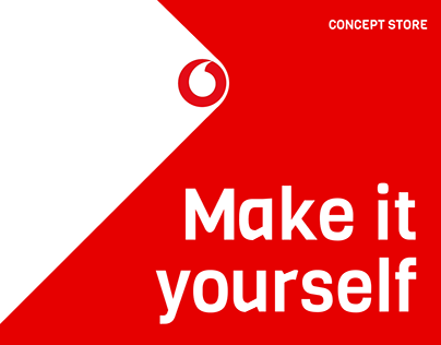 Make it yourself - Vodafone Concept Store