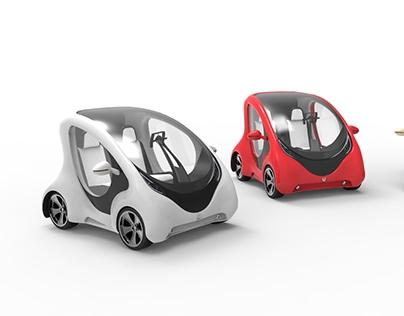 urbs_ urban car concept