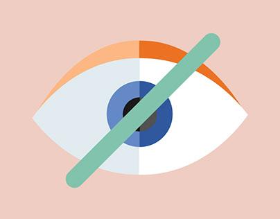 Information Poster on Blindness