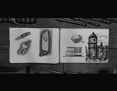 Sketchbook (Dec 2019 - Oct 2020)