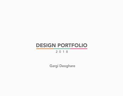 GARGI D - Design Portfolio 2018
