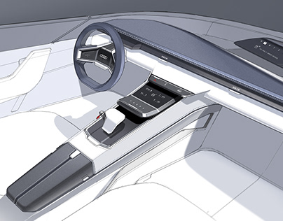 Audi A9 Roaster Interior Design