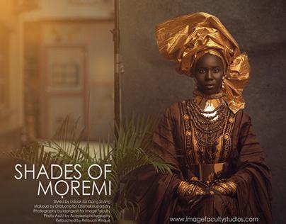 SHADES OF MOREMI