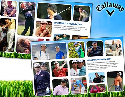 Callaway Golf, Men's Spring/Summer