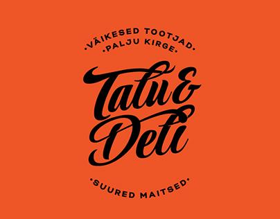 Talu&Deli - Gourmet shop and Cafe/restaurant