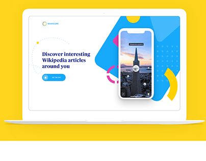 Wikiscope landing page