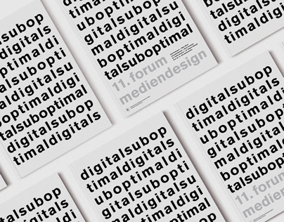 11. Forum Mediendesign – Documentation booklet