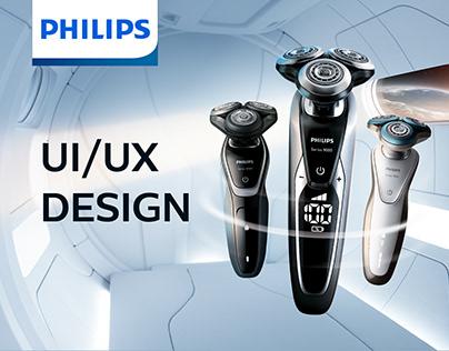 Official online shop Philips Russia UI & UX design
