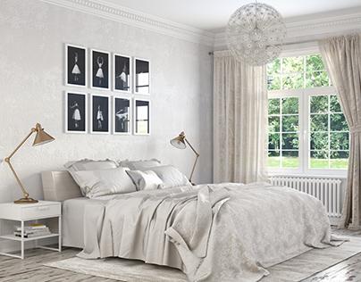Norway Gjøra | White Bedroom