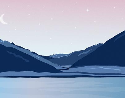 L'air pur de la montagne