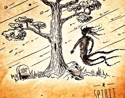 Spirit - Speed painting 15 min
