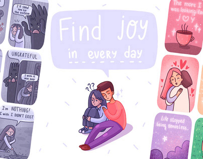 COMIC STORY | Find joy in every day
