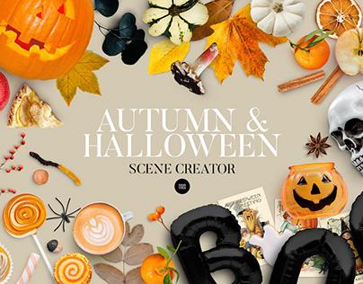 Autumn & Halloween Scene Creator