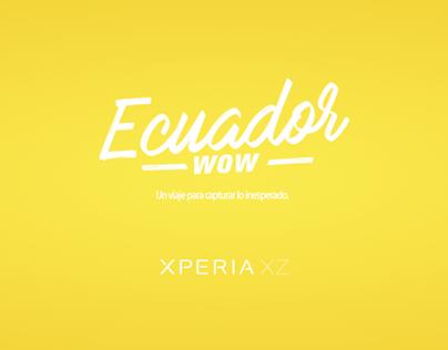 Lanzamiento Xperia XZ - Ecuador