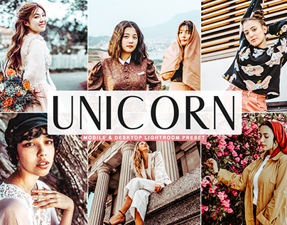 Free Unicorn Mobile & Desktop Lightroom Preset