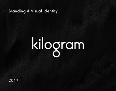 Kilogram. Branding & Visual Identity.