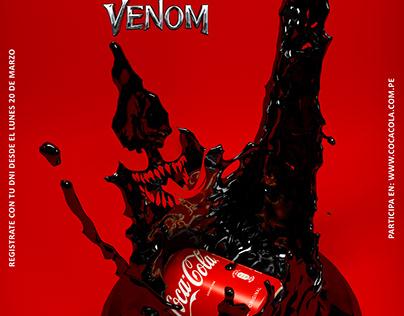 VENOM - COCA COLA - PUBLICITY MAILING