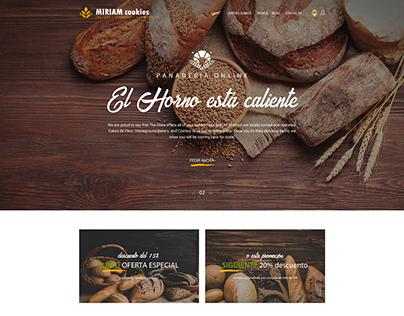 Página web desarrollada en Wordpress