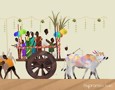 Pongal - the Tamil harvest festival