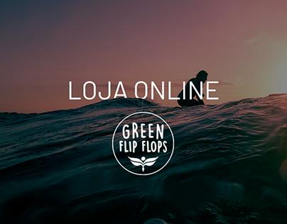 Loja Online | Green Flip Flop