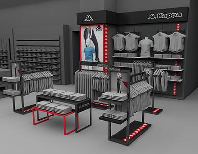 KAPPA Diseño para tiendas comerciales Ripley