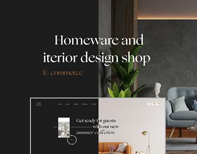 Home Decor Shop | E-commerce