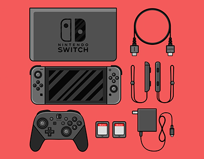 Gaming Consoles Illustrations