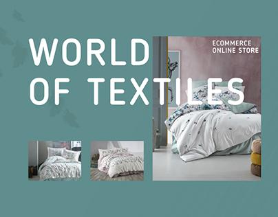 E-commerce Bed linen Online store