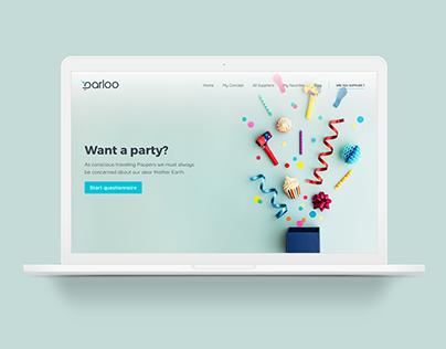 Platform design | Holidays organization