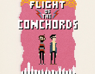 Pixel Poster, Flight of the Conchords