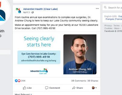 Adventist Health Digital campaign