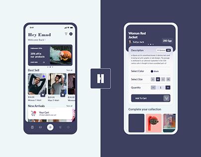 Homrz App & Web UX - UI Design