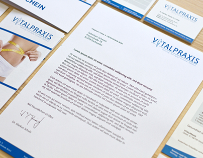 Vitalpraxis - Corporate Design