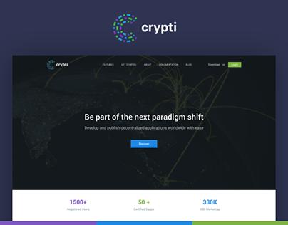 Crypti - UI & UX Design