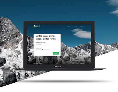 HIKING PROJECT LANDING PAGE