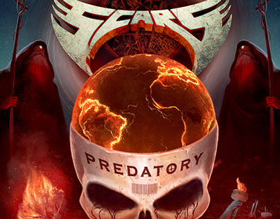 PREDATORY - Metal Album Cover