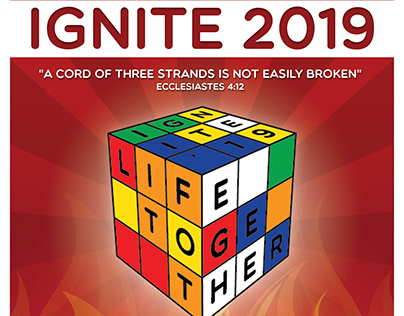 Ignite Retreat 2019 Logo & Collateral